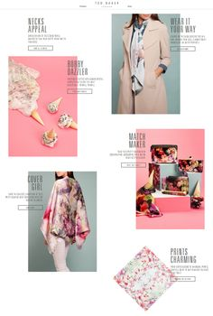 Ted Baker | Edited | Scarf Feature | SS15