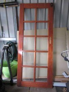 SOLID JARRAH FRENCH DOOR | Building Materials | Gumtree Australia Kalamunda Area - Forrestfield | 1111977409