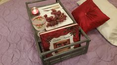HUGE Bamboo Shabby Chic Vintage Bed Dinner by sistersvintageattic