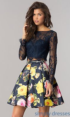 Shop homecoming dresses at PromGirl. Short dresses for homecoming hoco dresses, cute homecoming dresses, tight homecoming dresses, and trending homecoming party dresses. Long Sleeve Homecoming Dresses, Two Piece Homecoming Dress, Long Sleeve Short Dress, Hoco Dresses, Trendy Dresses, Cute Dresses, Dresses With Sleeves, Party Dresses, Sleeve Dresses