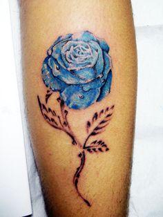 Blue Rose by Pelis