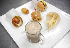 Root Beer Floats, Hot Dogs, Fries, and Chilli Dog Appetizers