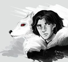33 dibujos de Jon Snow y Ghost para usar como wallpaper – Game of Thrones – Spoiler Time Jon Snow, Game Of Thrones Wallpaper, Burdge, Game Of Trones, The North Remembers, Anime Wolf, Fire And Ice, Aesthetic Wallpapers, Movie Tv