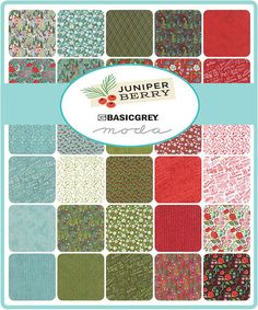 Juniper Berry Jelly Roll by Basic Grey for Moda by TheHangarStudio