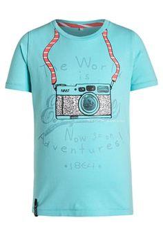 NITHOX - T-shirts print - blue radiance