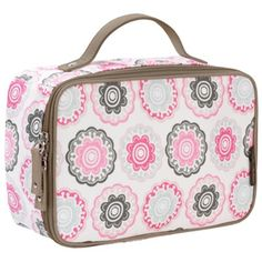 Zinnia Rose Kids Lunch Box by DwellStudio. For more creative ideas for kids lunches LIKE US on Facebook @ https://www.facebook.com/SchoolLunchIdeas