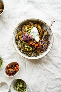 Mung Quinoa Power Bowl In Praise of One-Bowl Meals: 5 Healthy Recipes ...