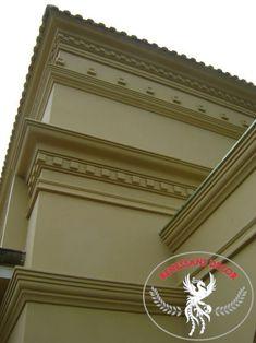 Moldura clássica para área externa em isopor (EPS) Classic Picture Frames, Columns, Window Trims, Grout, Facades, Bows