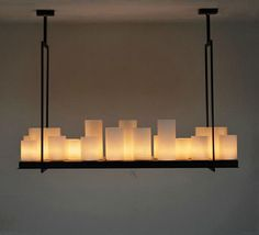 Project to build a rectangular black candle candlestick lamp antique wrought iron chandelier lighting chandelier bar Lighting Fixtures, Chandelier, Lighting, Candlestick Lamps, Farmhouse Lighting, Candlelight, Black Candles, Tuscan Style, Dining Table Chandelier