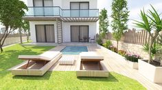 #3ds max #3dmodeling #3drendering #architecture #civilengineering #design #pool #yard #ανακαίνιση #φωτορεαλισμός