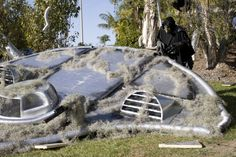 Halloween Alien Crash | There were even reports of a downed UFO out in La Costa. . .