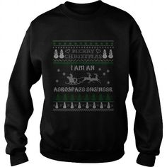 Make this awesome proud Aerospace engineer: Aerospace Engineer 1 Ugly Christmas Sweater Women Men Shirt as a great gift for Aerospace engineers
