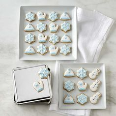 Winter Cookie Gift Tin