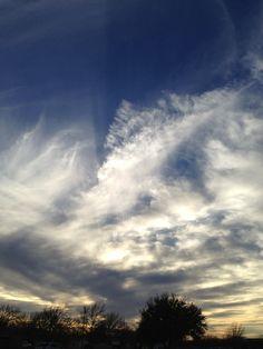 cloud splash... central Tx