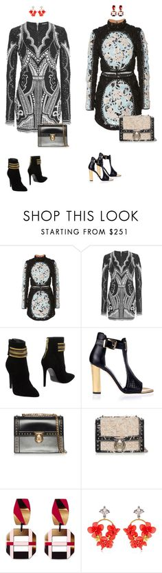 """Stop"" by audrey-balt on Polyvore featuring Balmain, Pierre Balmain and VANINA"