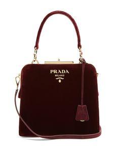 Click here to buy Prada Frame velvet bag at MATCHESFASHION.COM Prada Purses f7b64409c60b5