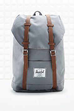 Herschel Retreat Backpack in Grey