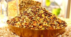 Ingredients  Sesame seeds - 1/2 cup,  Fennel seeds - 1/2 cup,  Split roasted coriander seeds (Dhana dal) - 1/2 cup,  Flax seeds(Alsi / Jawas...