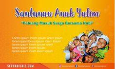 Banner Spanduk Santunan Anak Yatim – SerbaBisnis Lorem Ipsum, Banner, Banner Stands, Banners