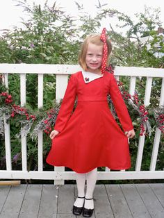 3884c06b76 Karen Mom of Three s Craft Blog  Historical Dresses for Girls to match  their dolls from