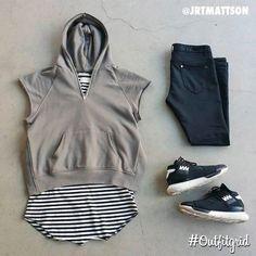 Today's top #outfitgrid is by @jrtmattson. ▫️#FearOfGod #Hoodie & #Tank ▫️#RepresentClo #Denim ▫️#Y3 #Qasa #flatlay #flatlayapp #flatlays