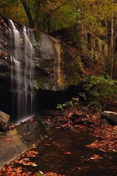Mill Creek located in Ansted, WV at Hawks Nest State Park in the New River Gorge area, photo by Jeff Burcher Photography