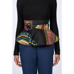 5aa2a03f73 Peplum belt Dashiki Belt Reversible Ankara Peplum by MyAshoMarket African  Print Dresses