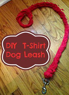 DIY Upcycled Dog Leash