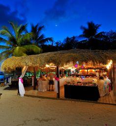 ♥ Beach-side Reception at Windjammer Landing (St. Lucia)
