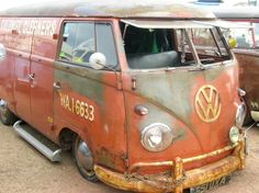 volkswagen camper rat look - Google Search