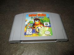 Nintendo 64 Video Game, Diddy Kong Racing - Nintendo 64 system game -DKR by FriendsRetro on Etsy