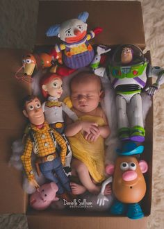 Toy Story Newborn  Newborn Photography