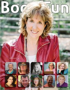 I was so honored to be included in the June 2018 Book Fun Magazine with a 10-page spread. It was a great opportunity to talk about my books, my writing life, and connect with readers.