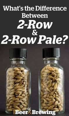 """2-Row?"" ""2-Row Pale""? And Amber Ale Recipe"