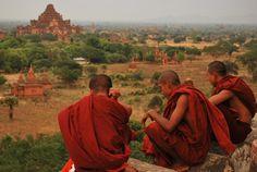 Monks, Myanmar (Burma)  #travel #southeastasia #landscapes #people