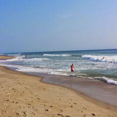 Beautiful morning at the beach in Kill Devil Hills, North Carolina.