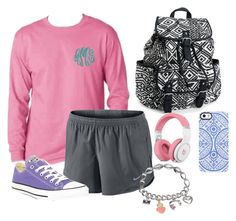 """""""Lazy Day"""" by livyliv510 ❤ liked on Polyvore featuring NIKE, Converse, Uncommon, Aéropostale and Juicy Couture"""