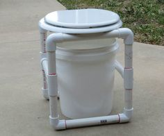 Camp Commode(potty) made for less then $10.00