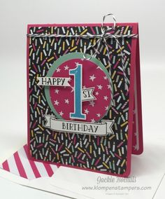 Klompen Stampers (Stampin' Up! Demonstrator Jackie Bolhuis): Number of Years--Card #2