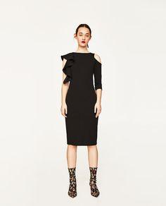 Asymmetrical dress ZARA