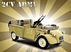 army 2cv