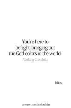 God, Universe, Source, whatever your name is for goodness and the love energy that created and sustains us...