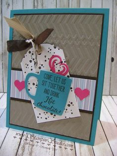 Stampin' Sisters Retreat, Stampin' Studio, Stampin' Up!   Cups and Kettles Framelits, Have a Cuppa DSP, Have a Cuppa Embellishments, Balloon Celebration