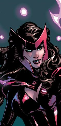 Scarlet Witch - Marvel Comics - Avengers - Wanda Maximoff - The Queen of Chaos