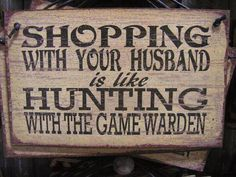Shopping With Your Husband thanks to Wayne Nowazek