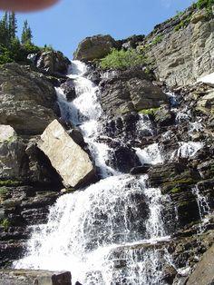 waterfalls of Glacier