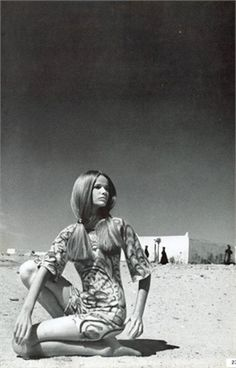 Veruschka Photo by Franco Rubartelli Vogue Italia, July/August 1966