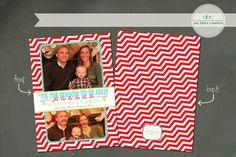 Custom Christmas Card fa la la by annblairecreations on Etsy, $17.00