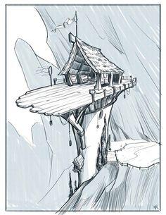 Sketchbook by Warner McGee, via Behance