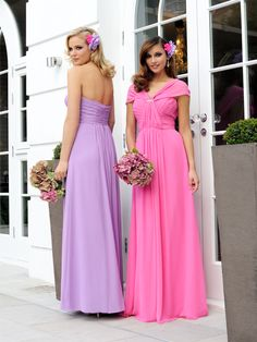 These vibrant Veromia Bridesmaid multiway dresses are beautifully designed with a poly chiffon fabric complete with waistbands. Left dress colour is Feesia/Lavender, right dress colour is Candy Floss Pink/Jazz Mocha. Product code VRB71463. View more Bridesmaid dresses from our Veromia Bridesmaids collection at: http://www.baroqueboutique.co.uk/bridesmaids/veromia-bridesmaids/ Photographs courtesy of: http://veromia.co.uk/Bridesmaids.html